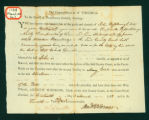 Summons for John Rosebrough